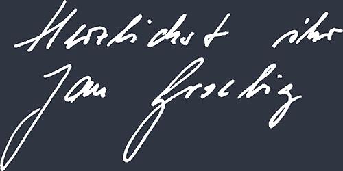 Unterschrift Jan Groebig